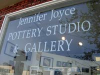 Jennifer Joyce Potter Studio Window