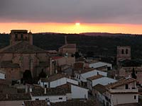 Alarcon Parador Spain Sunset